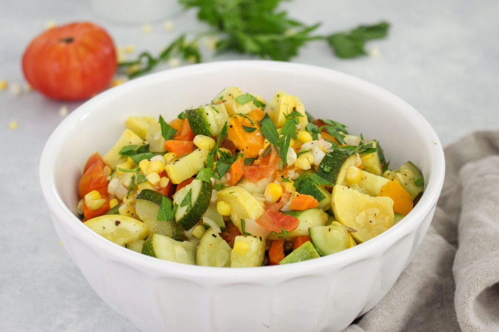 Vegan-Summer-Succotash-Recipe-FitLiving-Eats-by-Carly-Paige-Featured