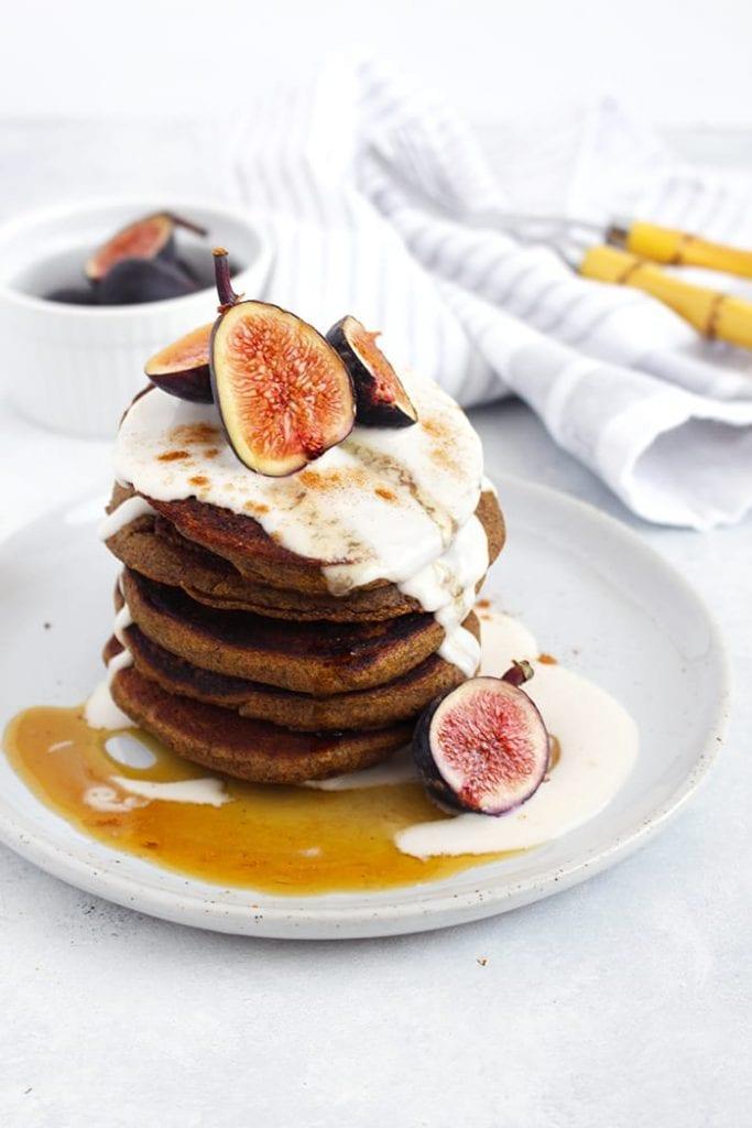 25 healthy pancake recipes - buckwheat-pumpkin-pancakes-2