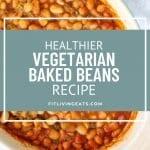 Healthier Baked Beans Vegetarian Recipe 5