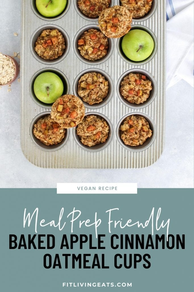 Apple Cinnamon Oatmeal Cups Recipe 1