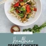 Healthier Orange Chicken Stir Fry with Veggies Recipe 3