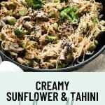 tahini and sesame kelp noodles recipe 4