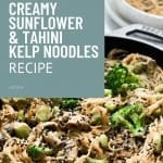 tahini and sesame kelp noodles recipe 5