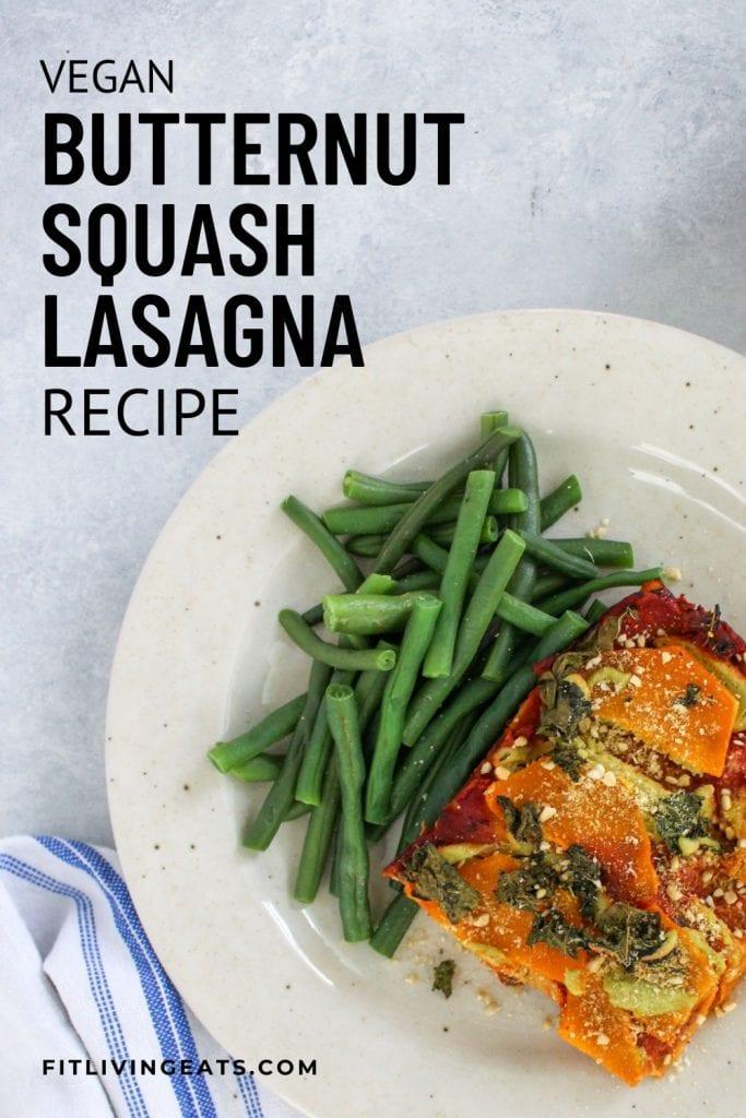 Vegan Butternut Squash and Kale Lasagna - 5