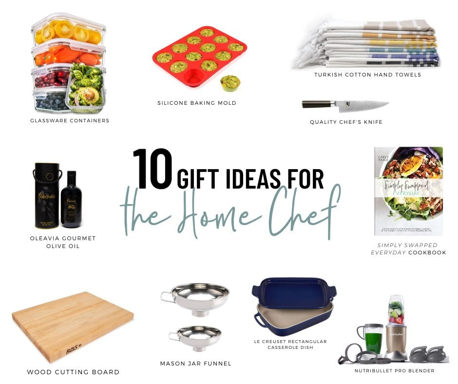 10 Gift Ideas for the Home Chef - FitLiving Eats by Carly Paige
