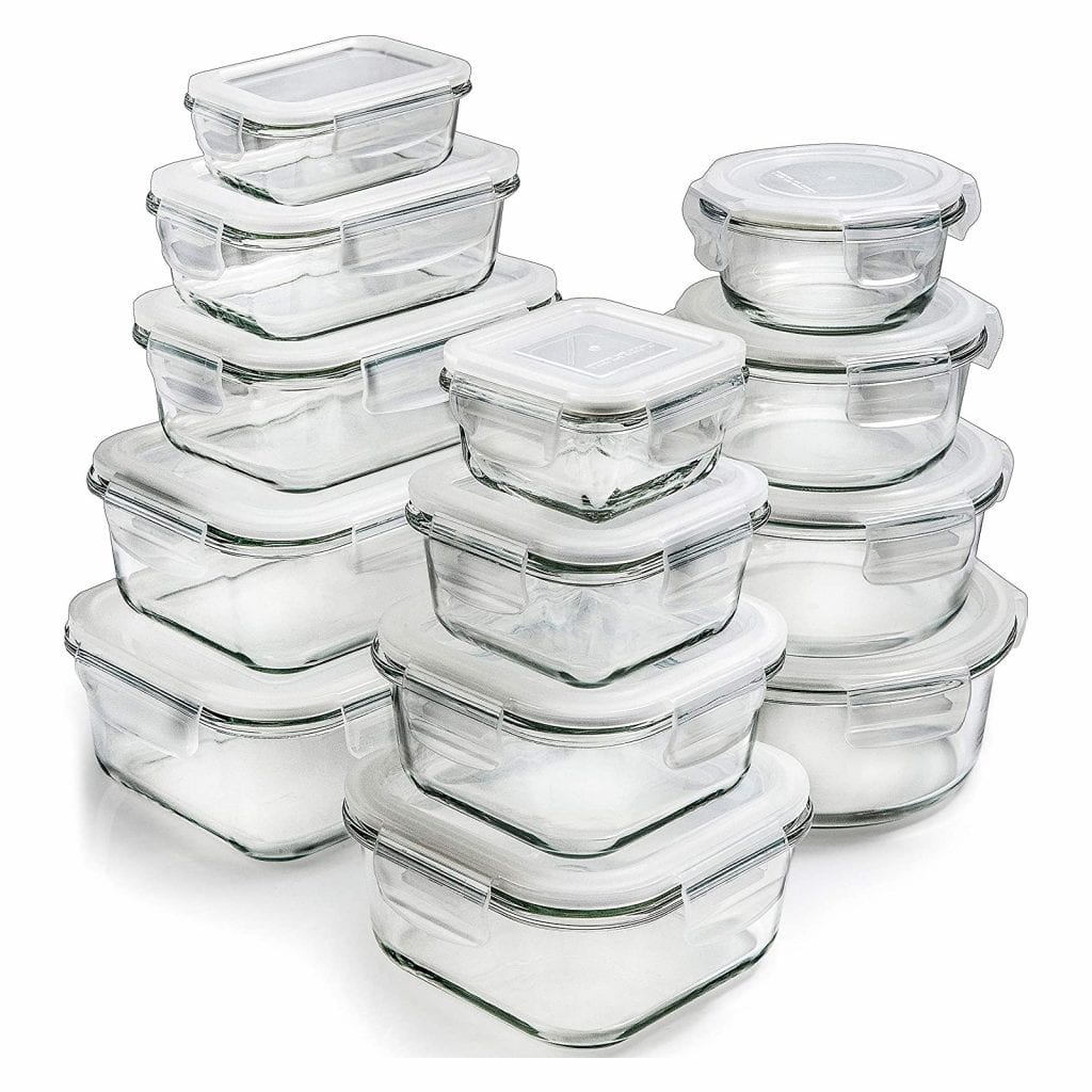 Gifts for Home Chef - Glass Storage Containers - 1