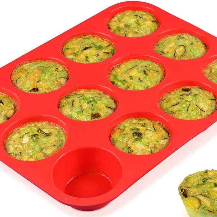 Gifts for Home Chef - Silicone Muffin Pan
