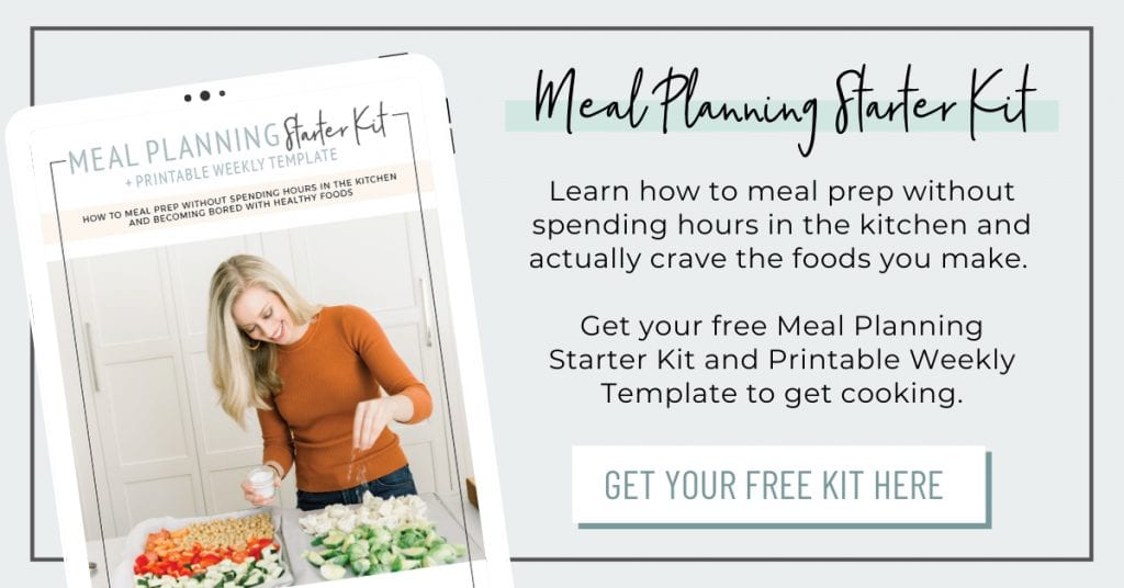 Meal Planning Starter Kit - Blog Post Image