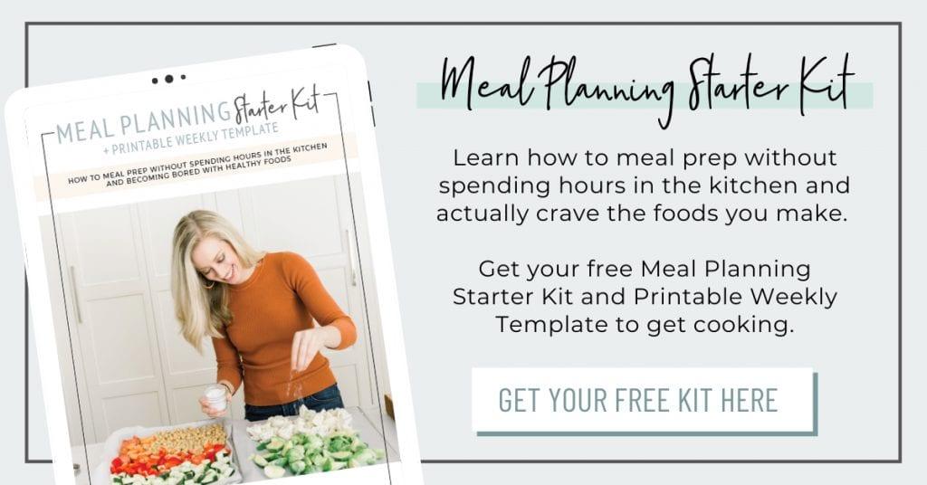 Meal Planning Starter Kit - Blog Post Image