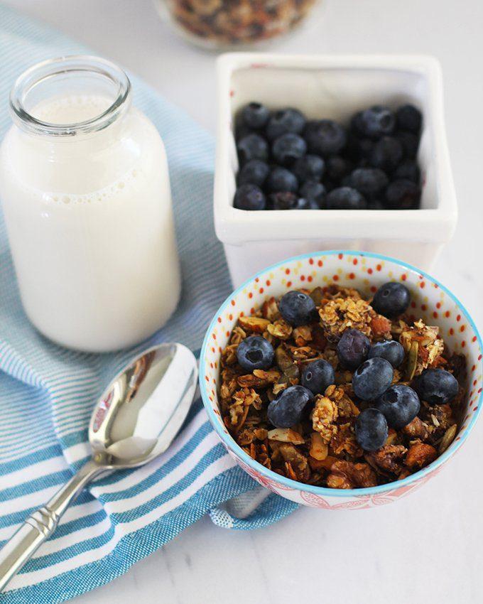 no sugar added granola clusters