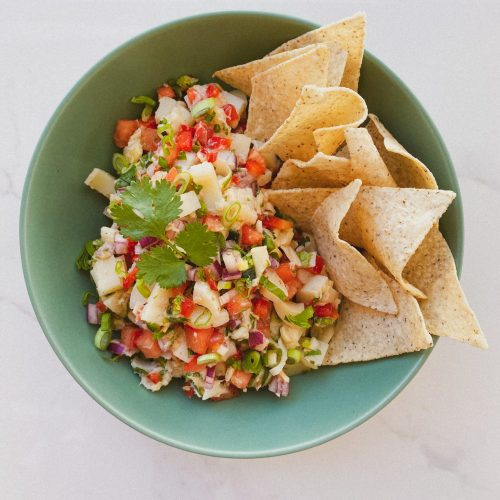 hearts of palm ceviche guest chef noeli recipe - fitliving eats by carly paige 2